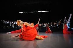 Tancerze zespołu Śląsk przygotowali zarówno spokojne, jak i żywiołowe układy choreograficzne.