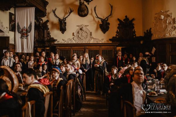 Jednym z pierwszych komercyjnych larpów był College of Wizardry, inspirowany Harrym Potterem, który odbył się pierwszy raz na zamku Czocha w 2014. Uczestniczyli w nim gracze z całego świata, odbyło się kilkanaście odsłon tej gry.