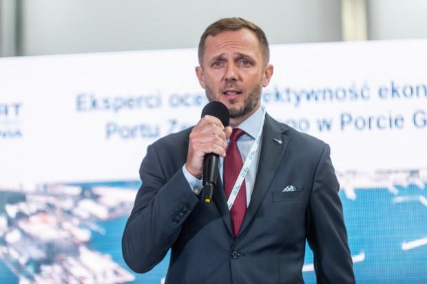 Jacek Sadaj pełni obowiązki prezesa Zarządu Morskiego Portu Gdynia SA od 29 czerwca.