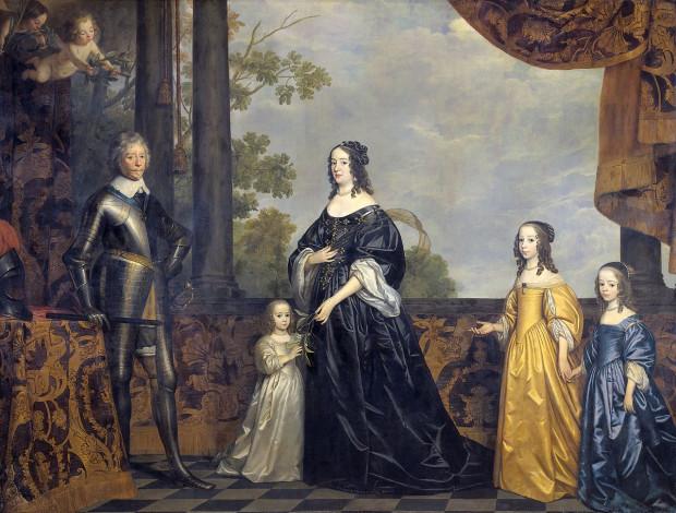 Fryderyk Henryk ze swoją rodziną na obrazie Gerrita van Honthorst. Ze zbiorów Rijksmuseum