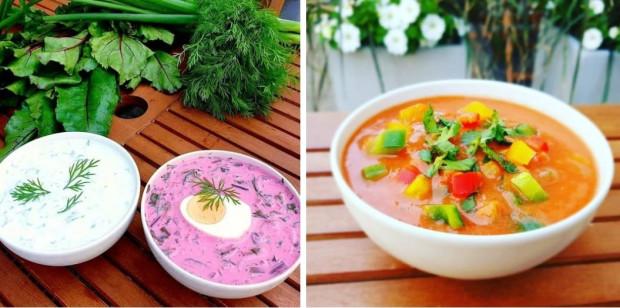 Przystanek Zupa oferuje chłodnik w trzech wariantach: gazpacho, litewski i bałkański.