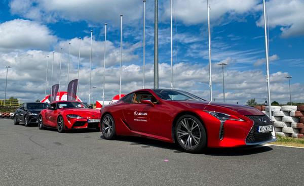Dzień ze sportowymi Toyotami na Autodromie Pomorze.