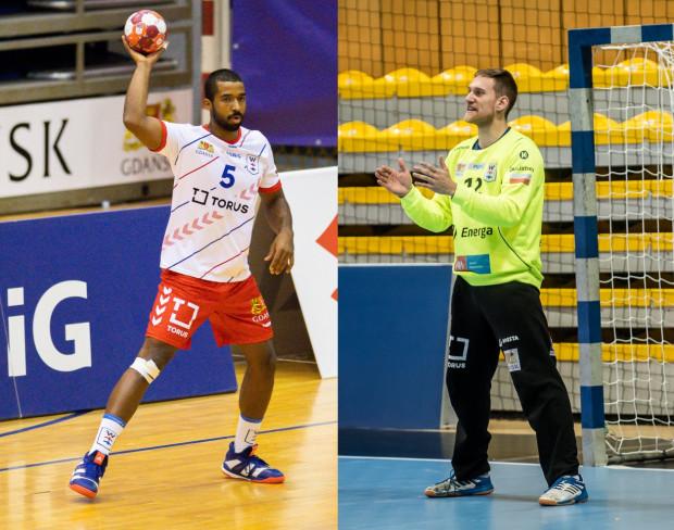 Torus Wybrzeże Gdańsk przedłużył kontrakty z Santiago Mosquerą (z lewej) i Arturem Chmielińskim (z prawej).