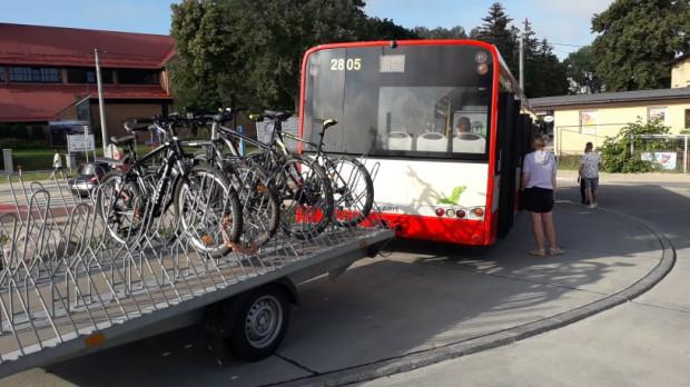Pan Igor zrelacjonował nam podróż komunikacją miejską z rowerem. Jego zdaniem wciąż jest w tej kwestii dużo do poprawy.