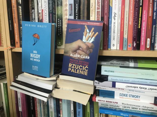 Na półkach antykwariatu w Sopocie można znaleźć książki o praktycznie każdej tematyce.