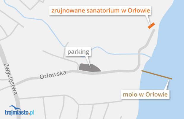 Plan, oprócz Polanki Redłowskiej, określi też przyszłość zrujnowanego sanatorium