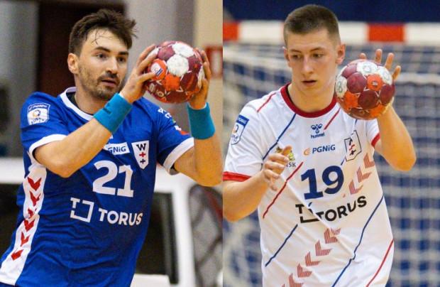 Piotr Papaj (z lewej) i Mateusz Kosmala (z prawej) zostają w Torus Wybrzeże na dwa kolejne sezony.