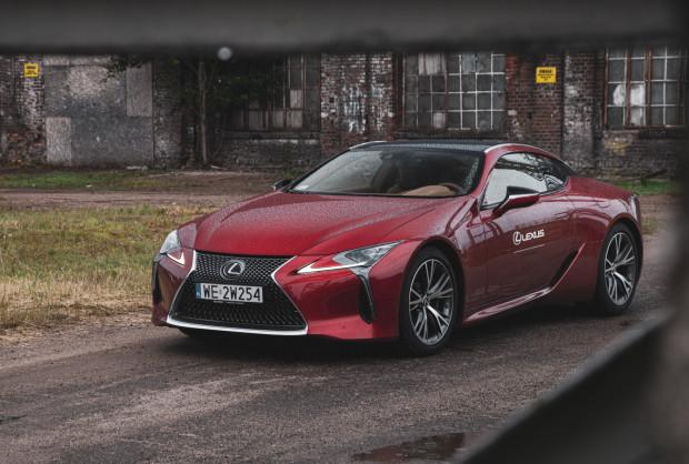 Ceny Lexusa LC 500 Coupe rozpoczynają się od 594 tys. zł.