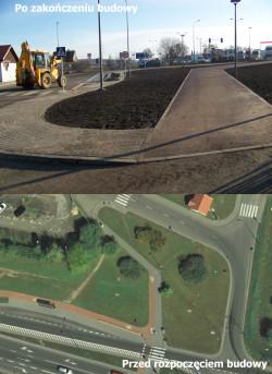 Mieszkańcy Matarni od czasu zakończenia budowy Trasy Słowackiego muszą do autobusu chodzić okrężną drogą. Zamiast chodnika zbudowano im ścieżkę.