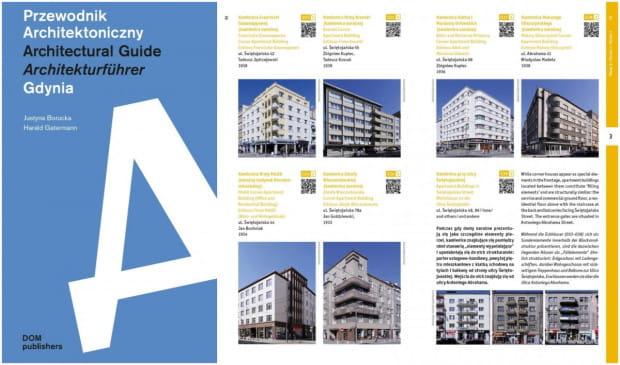 """Przewodnik Architektoniczny""/""Architectural Guide""/""Architekturführer"" Justyny Boruckiej i Haralda Gatermanna."