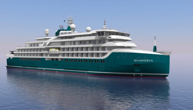 Statek ma zostać dostarczony Swan Hellenic pod koniec 2022 roku.