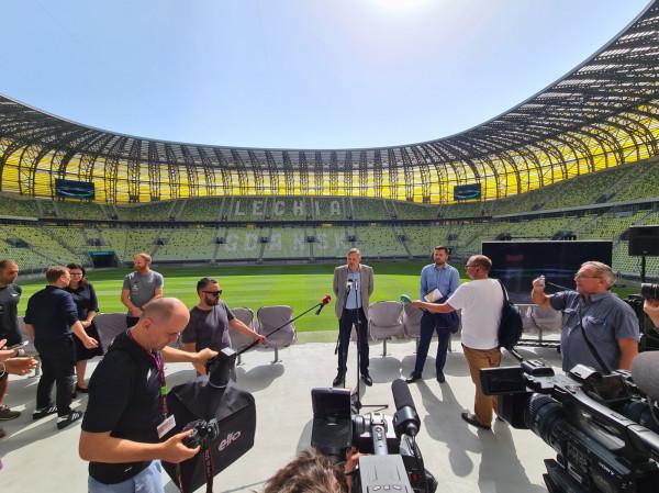 Program 10. urodzin stadionu zaprezentowano w środę podczas konferencji prasowej.
