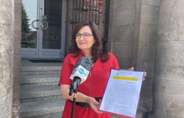 W środę posłanka Beata Maciejewska złożyła zawiadomienie do prokuratury.