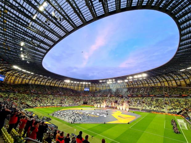 Jednym z największych wydarzeń na stadionie od początku jego istnienia - oprócz meczów Euro 2012 - był tegoroczny finał Ligi Europy, w którym hiszpańskie Villarreal pokonało w rzutach karnych Manchester Utd.