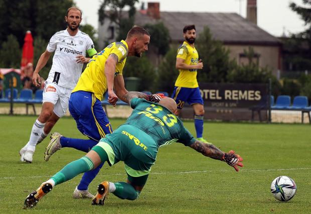 Arka Gdynia zremisowała sparing z Sigmą Ołomuniec. Jedynego gola dla żółto-niebieskich strzelił Mateusz Żebrowski.