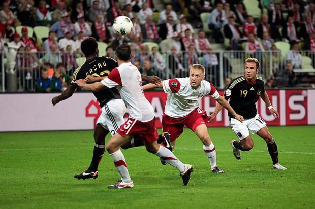 Pierwszy mecz reprezentacji Polski na nowym stadionie w Gdańsku z Niemcami zakończył się remisem 2:2.