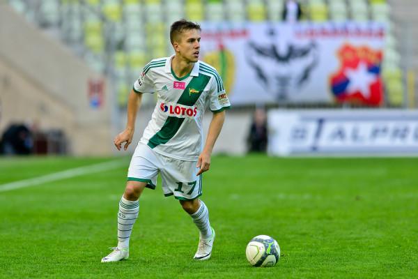 Marcin Pietrowski w pierwszym zespole Lechii Gdańsk występował w latach 2009-2015.