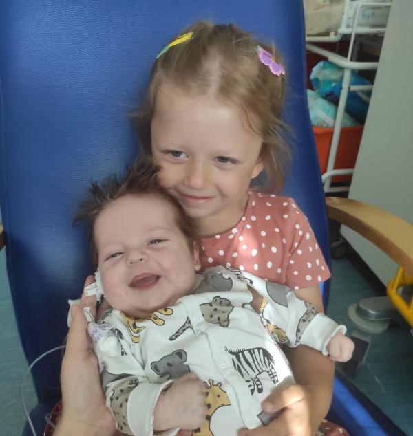 W marcu na świat przyszedł Tymek, brat 4-letniej Neli.