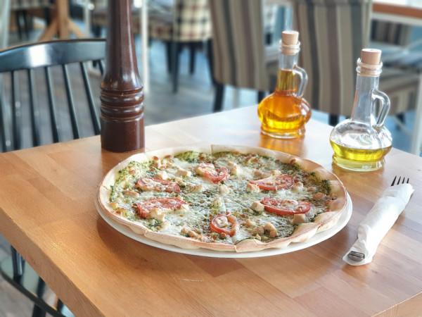 Pizza, pasta & basta to restauracja serwująca dania wyłącznie bezglutenowe.