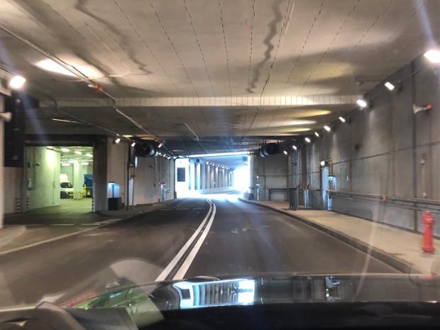 Z tunelu pod Forum Gdańsk korzystają głównie dostawcy, a to świetna alternatywa do ominięcia korków w centrum Gdańska.