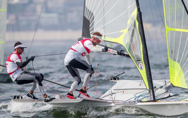 Łukasz Przybytek (z lewej) i Paweł Kołodziński (z prawej) po raz trzeci wystartują na igrzyskach olimpijskich. Czy w Tokio poprawią 8. miejsce z Rio de Janeiro?