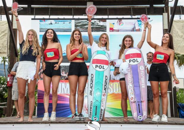 Polki zajęły wszystkie miejsca na podium w mistrzostwach świata w kitesurfingu do lat 19.
