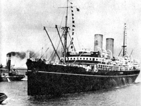 """SS """"Polonia"""" to statek pasażerski aktywny w latach 1912-1939. Początkowo nosił nazwę """"Kursk""""."""
