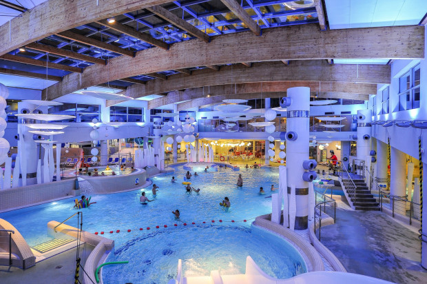Aquapark w Sopocie.