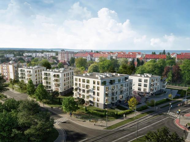 Marinus. Osiedle w Brzeźnie, u zbiegu ulicy Gdańskiej i PCK, powstanie blisko plaży i parków, a ponadto tuż obok przystanku tramwajowego.