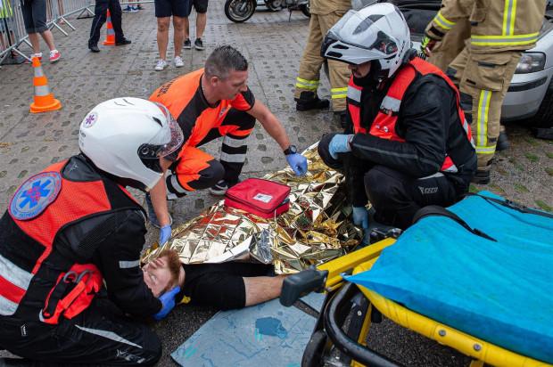 Podczas wydarzenia nie zabraknie pokazów z udzielania pierwszej pomocy.