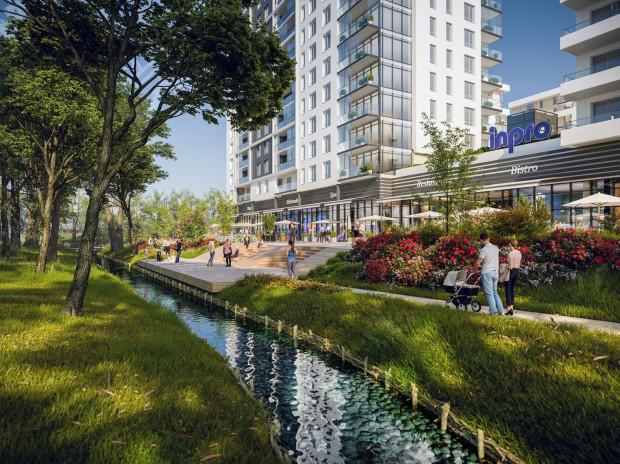 Rumia Centralna będzie dużym, wielofunkcyjnym kompleksem w sąsiedztwie urzędu miejskiego w Rumi. Razem z osiedle zagospodarowane zostaną także brzegi Zagórskiej Strugi. Budowa ruszy dopiero w przyszłym roku.