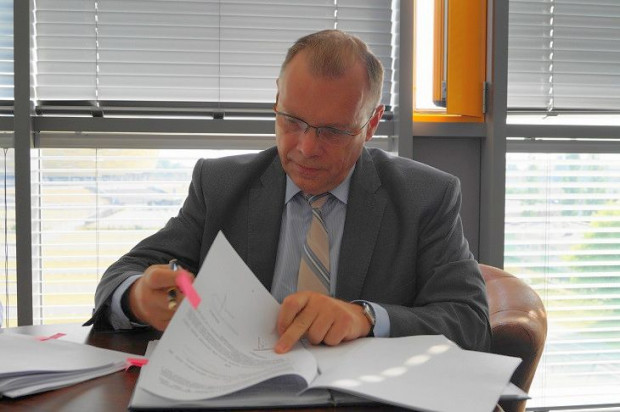 Włodzimierz Bartosiewicz żegna się z DRMG.