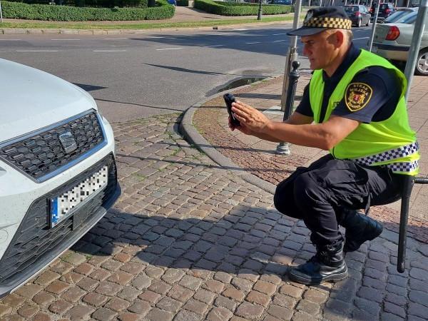 Strażnicy mają do dyspozycji cztery skanery. Jeśli urządzenia się sprawdzą, to po wakacjach zostaną w nie wyposażone wszystkie patrole w śródmieściu Gdańska.