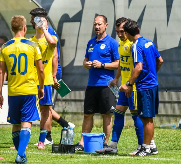 Dariusz Marzec uważa, że najlepiej wartość Arki Gdynia ocenią rozgrywki Fortuna 1. Liga, ale mimo doskonałego bilansu w sparingach przyznaje, że jeśli będzie okazja, to warto sięgnąć po nowego napastnika.
