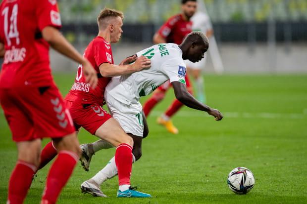 Bassekou Diabate, napastnik z Mali będzie mógł zadebiutować w Lechii Gdańsk w 2. kolejce PKO BP Ekstraklasa.