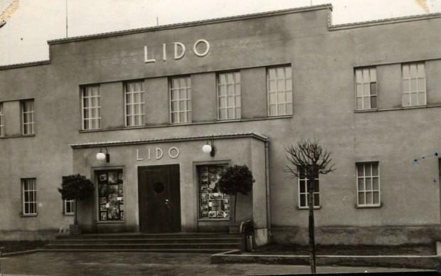 Kino Lido w Gdyni na zdjęciu z drugiej połowy lat 30. To właśnie tutaj odbył się seans trójwymiarowego filmu.