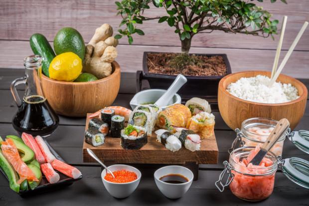 Kuchnia japońska zaliczana jest do najzdrowszych na świecie.
