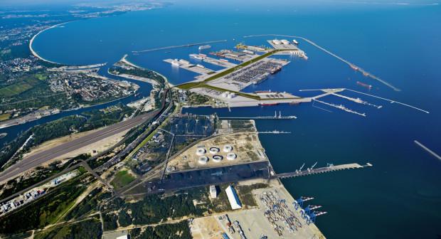 Koncepcja budowy Portu Centralnego, czyli nowych nabrzeży głębokowodnych na morzu, nie znalazła na razie uznania inwestorów.