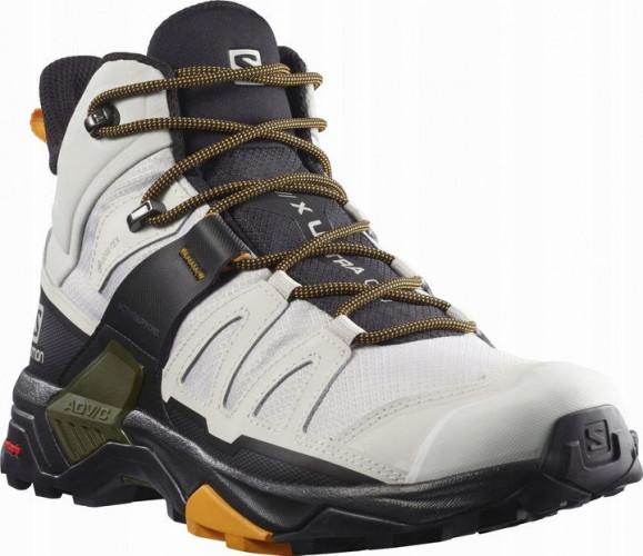 SALOMON X ULTRA 4 MID GTX. Zaawansowane obuwie w wyższe partie górskie, idealne do trudnych technicznie zejść i podejść. Cena ok. 520-740 zł.
