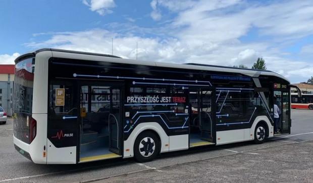 Testowany przez Gdańsk autobus elektryczny MAN Lion's City E.