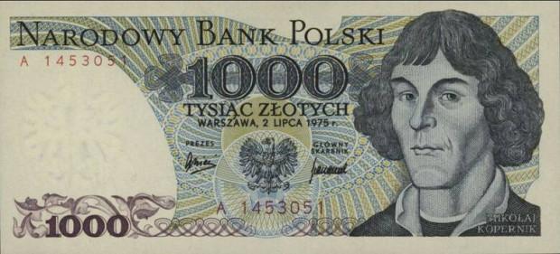 Banknot, który trafił do portfeli Polaków w 1975 roku.