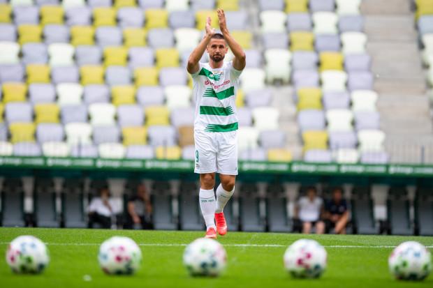 Łukasz Zwoliński w 42 oficjalnych meczach strzelił 16 goli dla Lechii Gdańsk. Obiecuje kolejne.