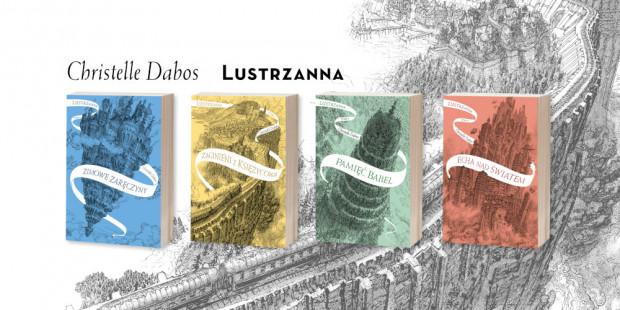 """""""Lustrzanna"""" - fantastyczno-przygodowa, czterotomowa saga, francuski bestseller dla młodzieży i dorosłych."""