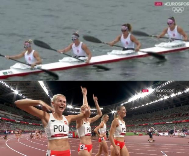 Igrzyska olimpijskie Tokio 2020 w sobotę przyniosły Polsce 13. i 14. medal. Kajakarki zdobyły brąz, a kobieca sztafeta 4x400 - srebro.