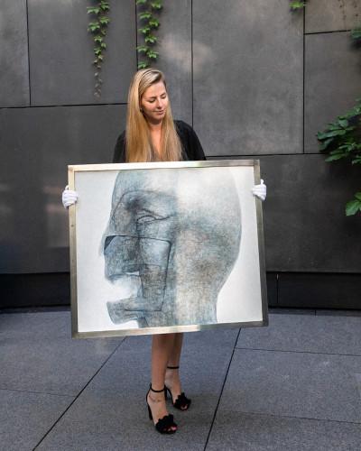 """Prawdziwym hitem była praca Zdzisława Beksińskiego """"Bez tytułu"""" z 1992 roku. Zgodnie z przewidywaniami sprzedała się ona za najwyższą cenę podczas aukcji - za 320 tys. złotych."""