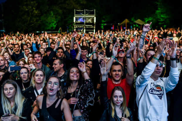 Koncert Pezeta w ramach Open'er Park w Parku Kolibki w Gdyni