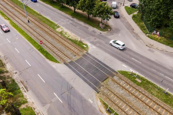 Do końca listopada ma zostać przebudowane skrzyżowanie al. Hallera z ul. Grudziądzką.