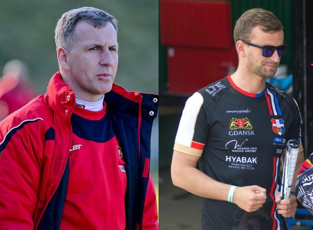 Tomasz Unton (z lewej) został trenerem AS Pomorze. Natomiast Jarosław Hulko (z prawej) to nowy szkoleniowiec Ogniwa Sopot.