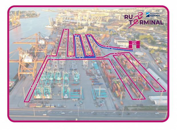 Trasa One Terminal Run Gdynia.
