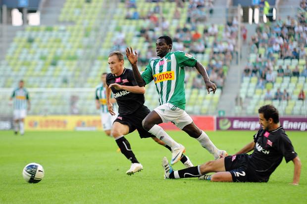 Pamiętacie? Fred Benson, strzelec pierwszego gola na stadionie na Letnicy, 14 sierpnia 2011 roku podczas meczu Lechia Gdańsk - Cracovia.
